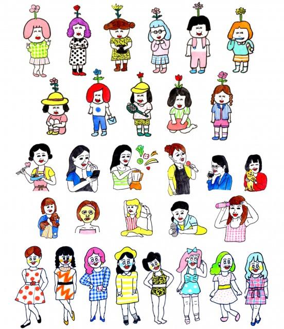 s_portfolio illust girls